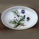 Villeroy and Boch Botanica large 16 inch oval baker Knautia Arvensis