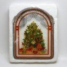 Christmas suncatcher tree with presents