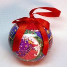 Mary Engelbreit Believe Santa ball ornament Christmas