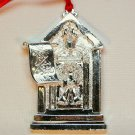 Gorham silver plate Christmas ornament door Our Home Your Home