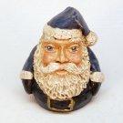 Early Jim Shore miniature Santa figurine