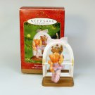 Hallmark Beginning Ballet ornament kitten at the barre QX2875