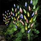Solar Leaf Branch for gardens, pots and walkways.  3 Pieces, 60 LED Lights.