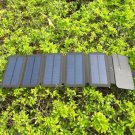 8W folding solar charger, suitable for direct charging of phone or battery bank.