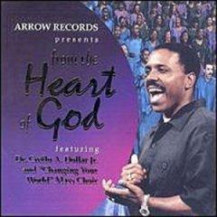 from the heart of god - creflo A dollar jr. CD 2000 arrow used mint