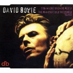 david bowie - strangers when we meet CD single used mint