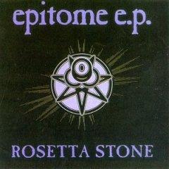 rosetta stone : epitome CD ep 1992 cleopatra 7 tracks used mint