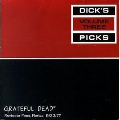 grateful dead : dick's picks vol 3, pembroke pines FL 5/22/77 (2CD used VG)