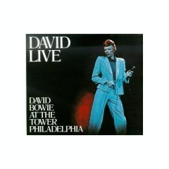 David Live - David Bowie At The Tower Philadelphia with 3 bonus tracks 2CD 1990 used
