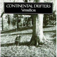 continental drifters - vermilion CD 1999 razor & tie used mint