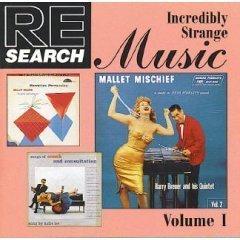 re/search : incredibly strange music volume 1 (CD 1993 caroline, 13 tracks, used mint)