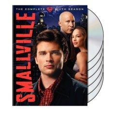 smallville : complete sixth season DVD 6-disc set used mint