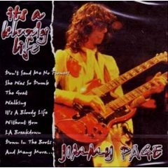 jimmy page : it's a bloody life CD import 2001 dressed to kill used mint