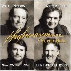 highwayman - super hits by nelson cash jennings & kristofferson (CD 1999 sony used VG)