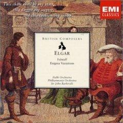 elgar : falstaff; enigma variations, halle orch. / philharmonia orch., sir john barbirolli (CD mint)