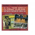 """diana ross & supremes with temptations : a bit of liverpool / """"TCB"""" (CD 1986 motown, used mint)"""