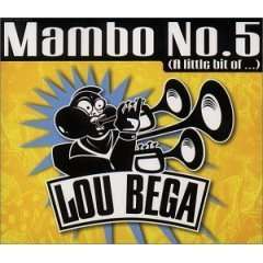 lou bega : mambo No. 5 (CD single, 1999 BMG, 4 tracks, used near mint)