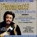 pavarotti : l'elisir d'amore highlights (CD 1994 tring, 15 tracks, used mint)