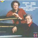 emanuel ax / james levine & CSO / brahms concerto no 1 in D minor (CD 1984 RCA red seal, used)