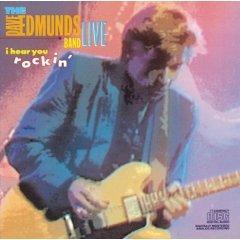 dave edmunds band live - i hear you rockin CD 1986 columbia used mint