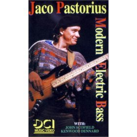 jaco pastorius : modern electric bass VHS 1985 DCI, 90 minutes, 45-page booklet, used mint)