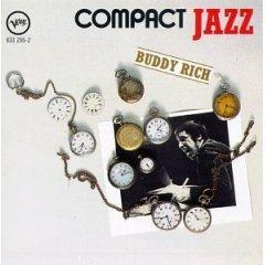 buddy rich - compact jazz CD 1987 polygram BMG Direct used mint