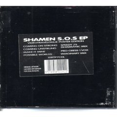 shamen : s.o.s. ep (CD single, 1993, 4 tracks, used VG)