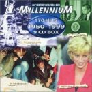 millenium : 170 hits of 1950 - 1999 (9CD box, 1999 disky, new)