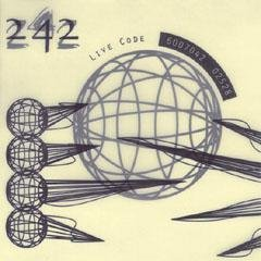 front 242 - live code CD 1994 play it again sam 13 tracks used mint