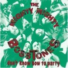 mighty mighty bosstones : don't know how to party (CD 1993 mercury, used mint)