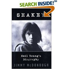 shakey : neil young's biography, by jimmy mcdonough (book 2002 random house, HC used VG)