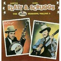 lester flatt & earl scruggs : mercury sessions volume 2 (CD 1987 rounder, used mint)