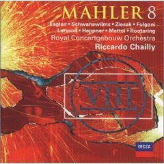 mahler 8 : riccardo chailly w/ royal concertgebouw orchestra (2CD 2001 decca / BMG Direct, used)