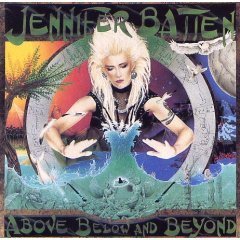 jennifer batten : above below and beyond (CD 1992 Voss, used)