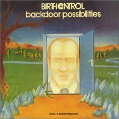 birth control : backdoor possibilities (CD 1996 green tree records, germany, used mint)