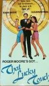 that lucky touch starring roger moore (VHS 1987 used mint)