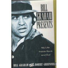bill graham presents my life inside rock and out, bill graham & robert greenfield (book HC used)