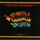 al dimeola john mclaughlin paco delucia : friday night in san francisco, live (gold CD 1981 mint)