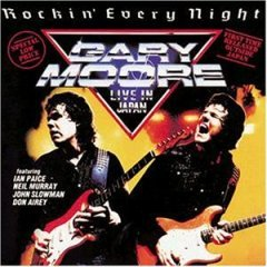 gary moore - rockin every night live in japan CD 1986 10 records made in germany used mint