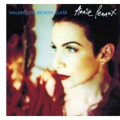 annie lennox - walking on broken glass CD ep 1992 arista 5 tracks used very good