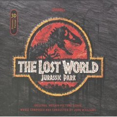 lost world - jurassic park original motion picture score - john williams CD 1997 used