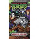 teenage mutant ninja turtles : ways of the warrior ; worlds collide VHS used mint