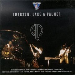 emerson lake & palmer : self-titled double CD, 1997 king biscuit flower hour, used like new
