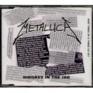 metallica : whiskey in the jar part three, CD single 1999 vertigo, made in australia, 6 tracks, mint