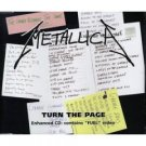 metallica : turn the page CD single 1998 vertigo 3 tracks used very good