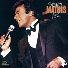 johnny mathis live CD 1984 CBS jon mat records, used like new