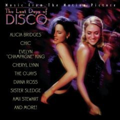 the last days of disco soundtrack CD 1998 sony used