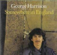 george harrison : somewhere in england CD 1981 warner used very good
