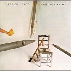 paul mccartney : pipes of peace CD 1983 MPL columbia used like new