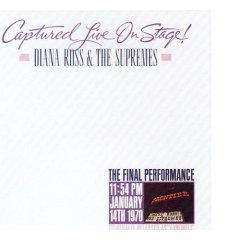 diana ross & the supremes captured live on stage CD double 1992 motown used near mint